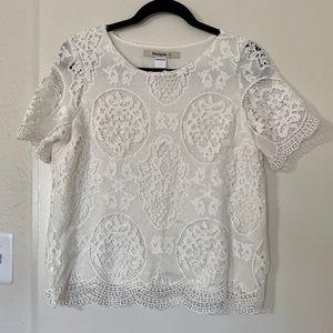 Desigual Crochet Blouse